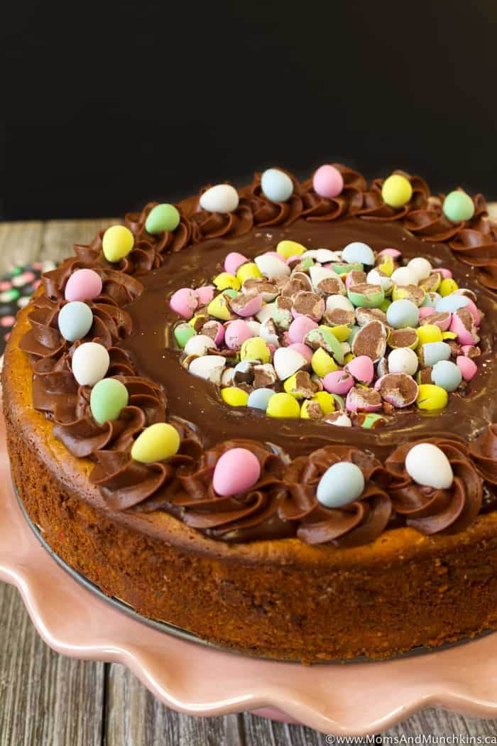 Mini Eggs Cheesecake Recipe