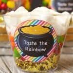 Taste The Rainbow Treat Cups with Printables