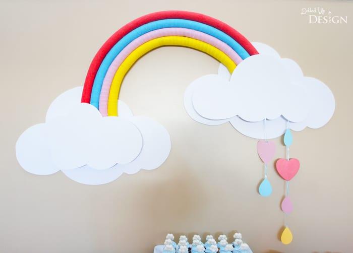 Rainbow Party Decorating Idea