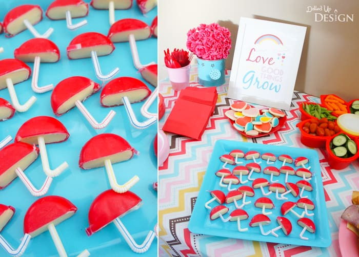 Cute Snacks for a Baby Shower
