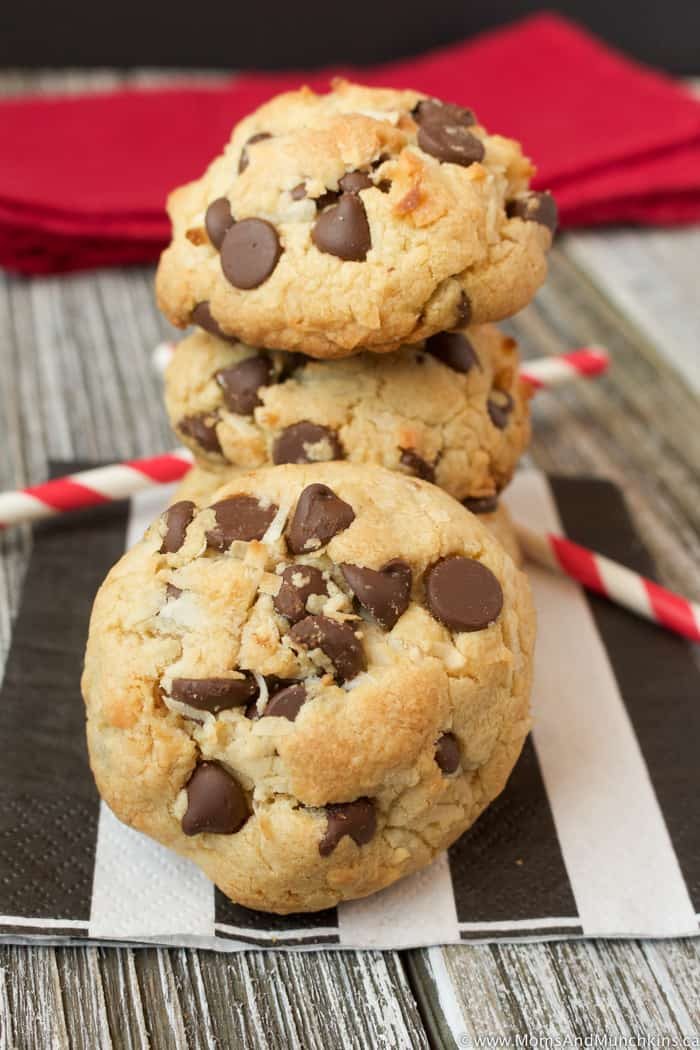Chocolate Chip Coconut Cookies Recipe