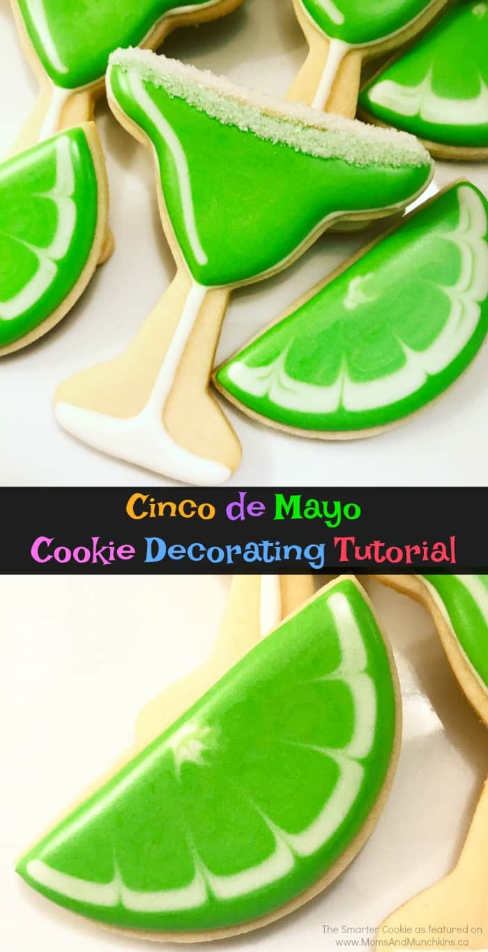 Cinco de Mayo Cookies Decorating Tutorial