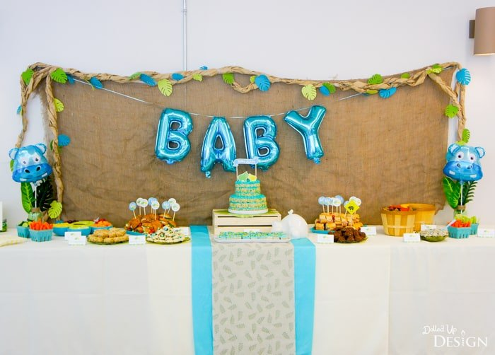 Hippo Baby Shower Ideas