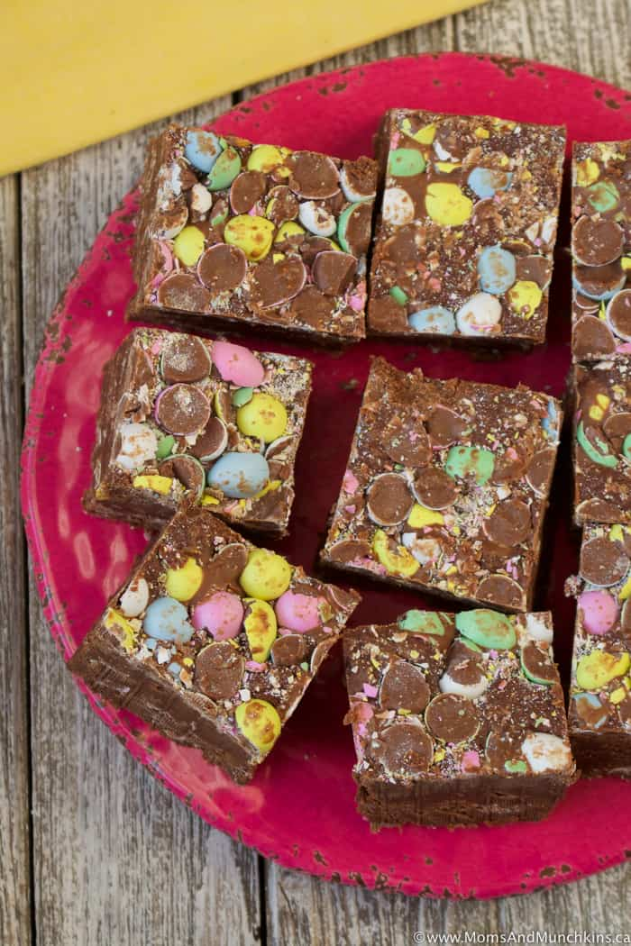 Mini Eggs Fudge Recipe