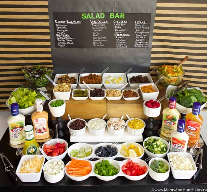 Ultimate Salad Bar Foods To Serve Moms Amp Munchkins