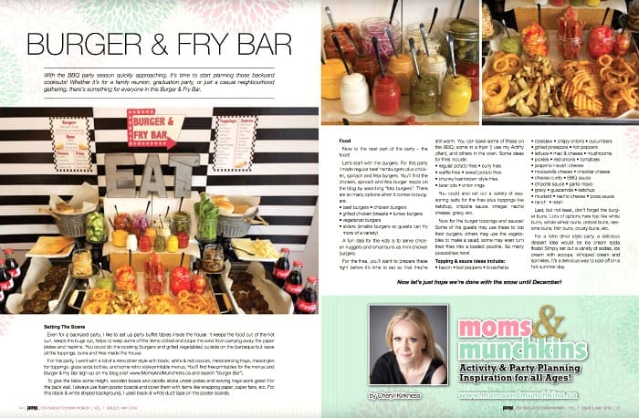 Burger and Fry Bar Pink Magazine Saskatchewan Article