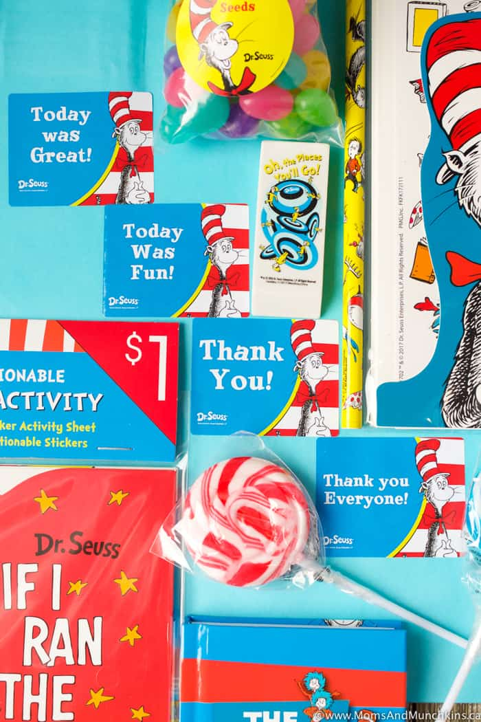 Dr Seuss Party Favors