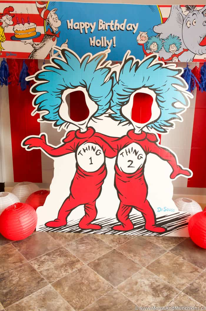 Thing 1 and Thing 2 Party Decorations