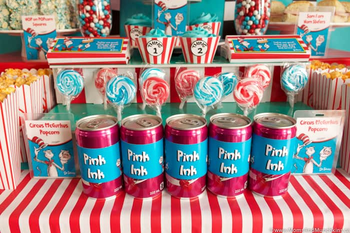 Dr Seuss Party Treats