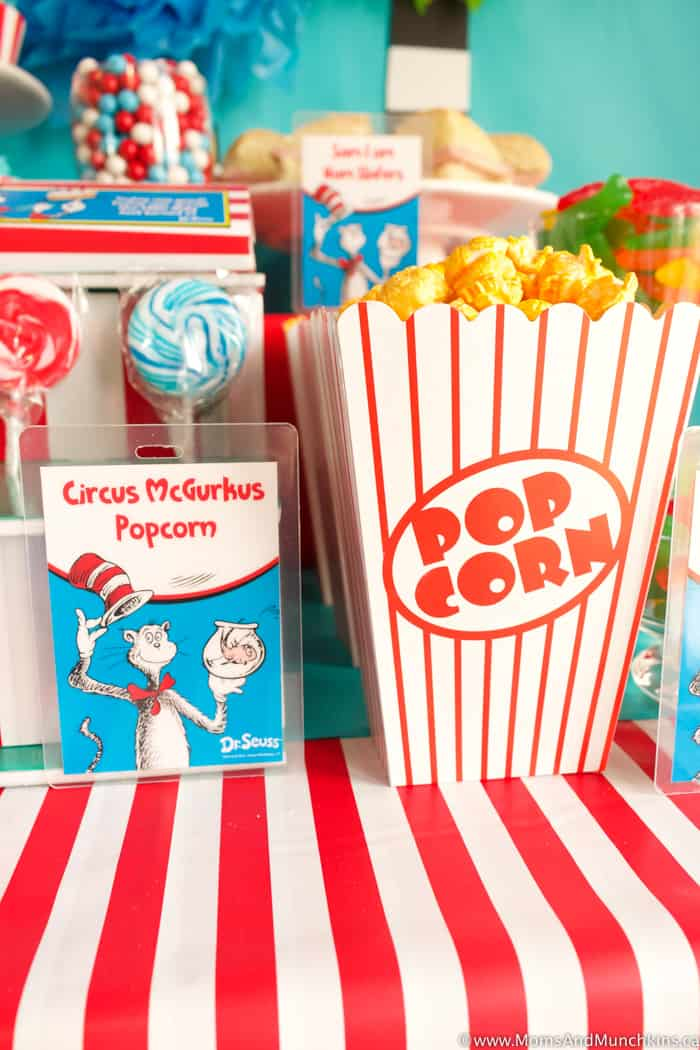 Dr. Seuss Party Snacks
