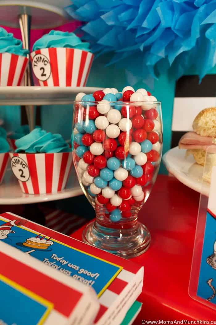 Dr. Seuss Party Treats