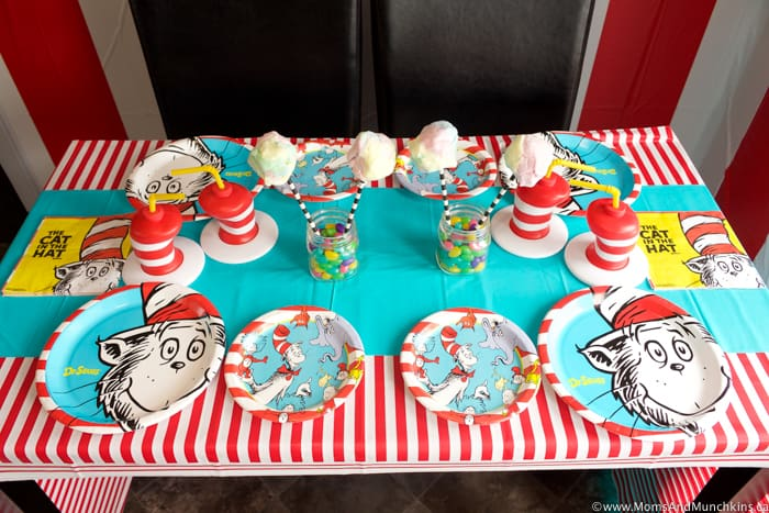 Dr Seuss Party Table