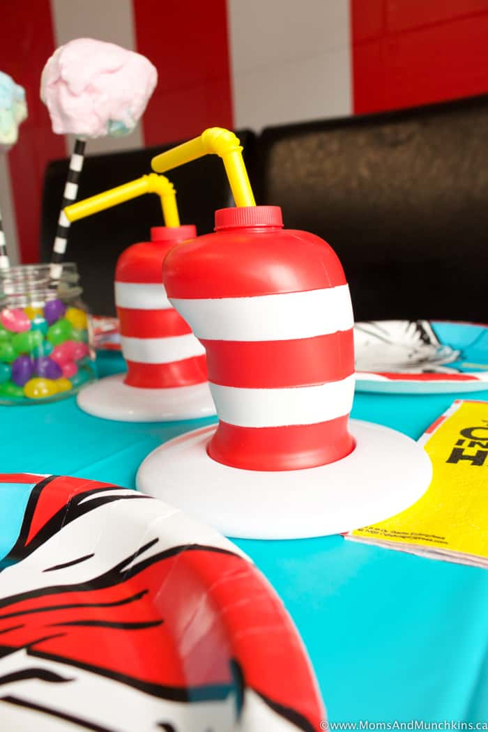 Cat In The Hat Party Table