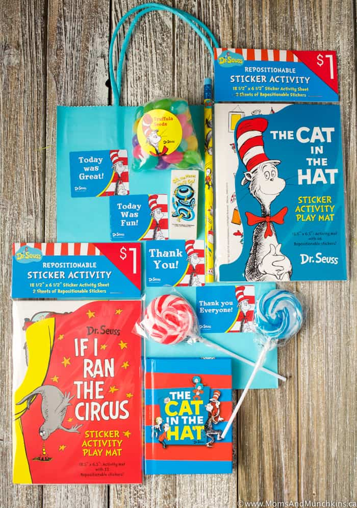 Cat In The Hat Party Favors