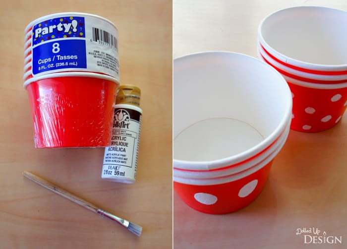 DIY Mickey Mouse Treat Cups