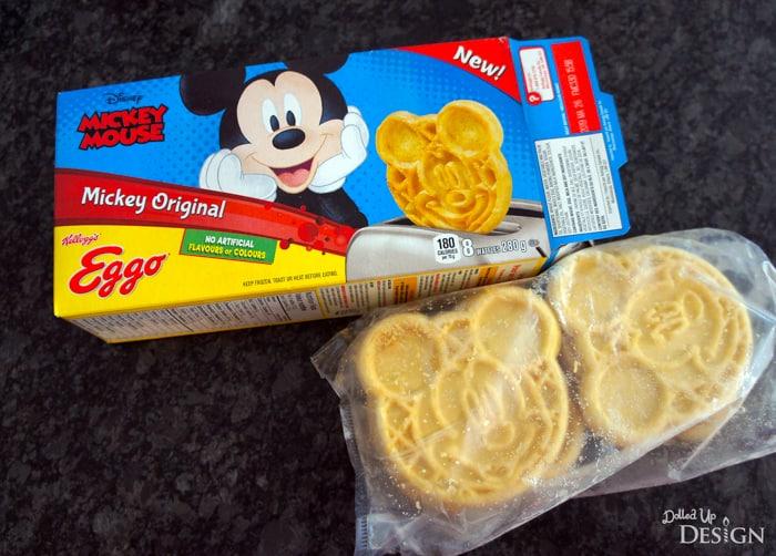 Mickey Waffles Eggos