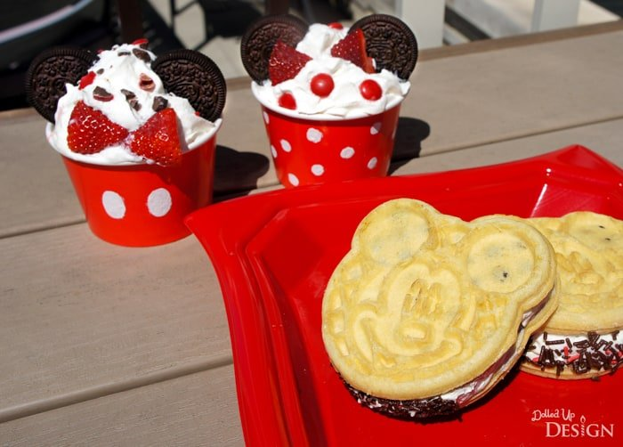 DIY Mickey Ice Cream Treats