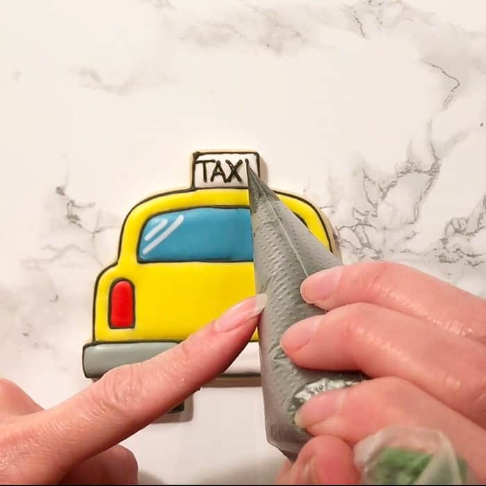 Making New York City Taxi Cab Cookies