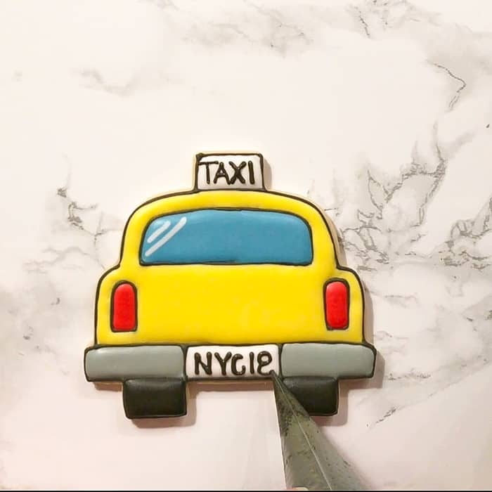 How To Make New York Cit Taxi Cookies