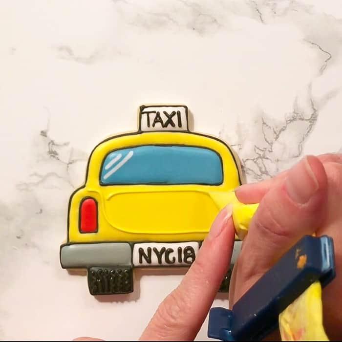 New York City Cab Cookies