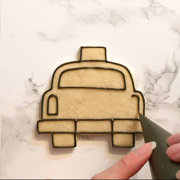 How To Make Taxi Cab Cookies