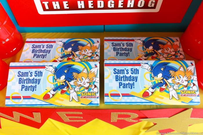 Sonic Party Favors