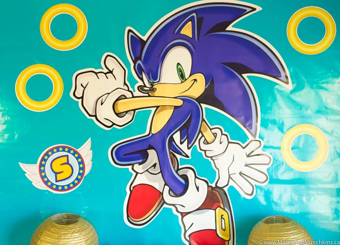 Sonic The Hedgehog Wall Decal
