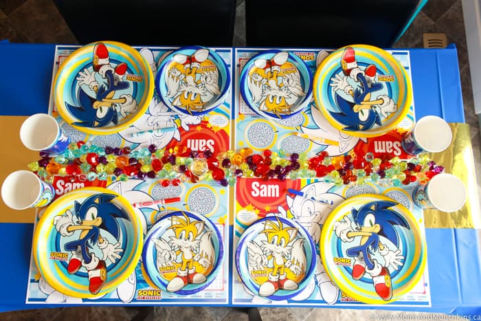 Sonic The Hedgehog Birthday Decorations