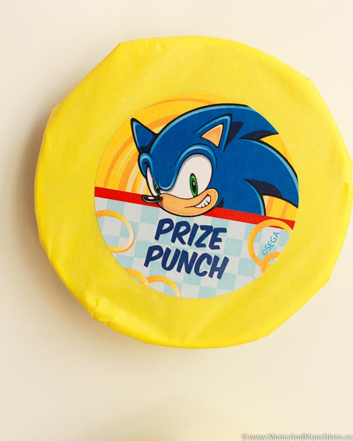 Sonic The Hedgehog Party Game