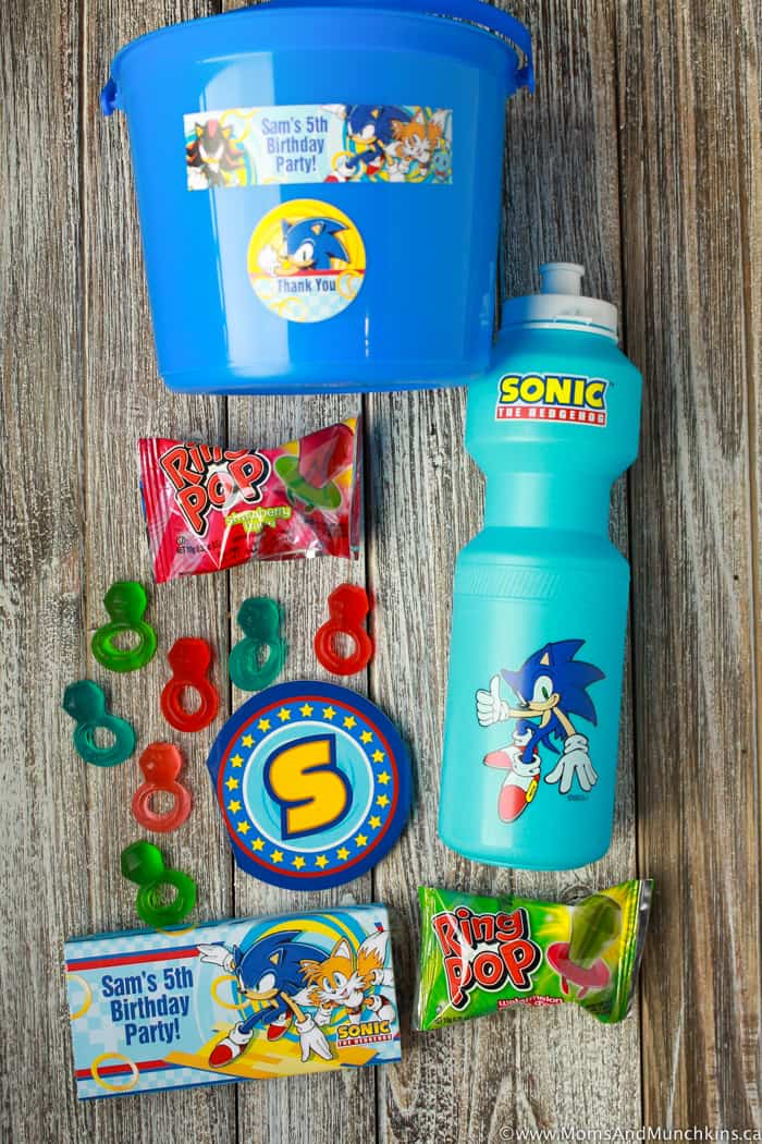 Sonic The Hedgehog Favors