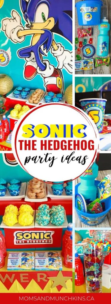 Sonic The Hedgehog Party Ideas Moms Munchkins