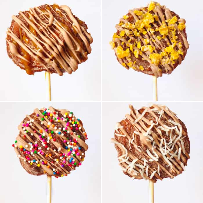 Churro Pops Toppings