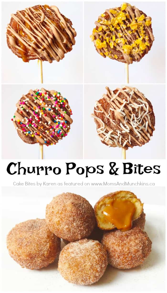 Churro Pops Recipe