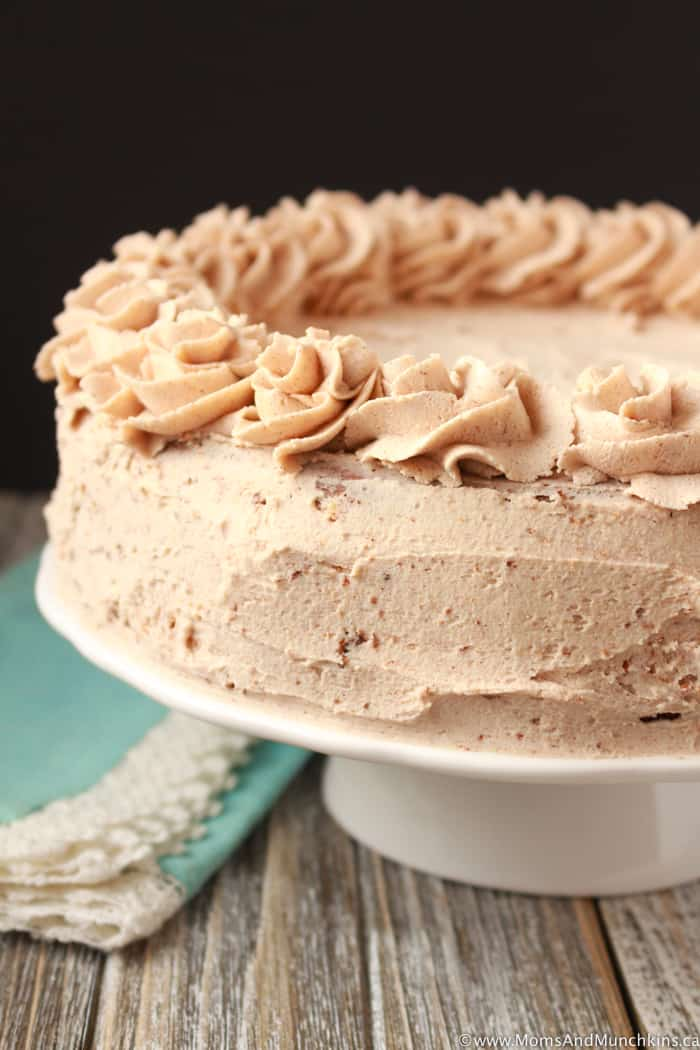 Cinnamon Bun Buttercream Icing