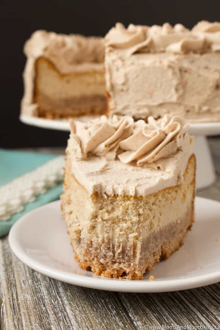 Cinnamon Bun Cheesecake Recipe