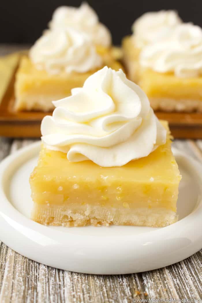 Lemon Buttercream Bars