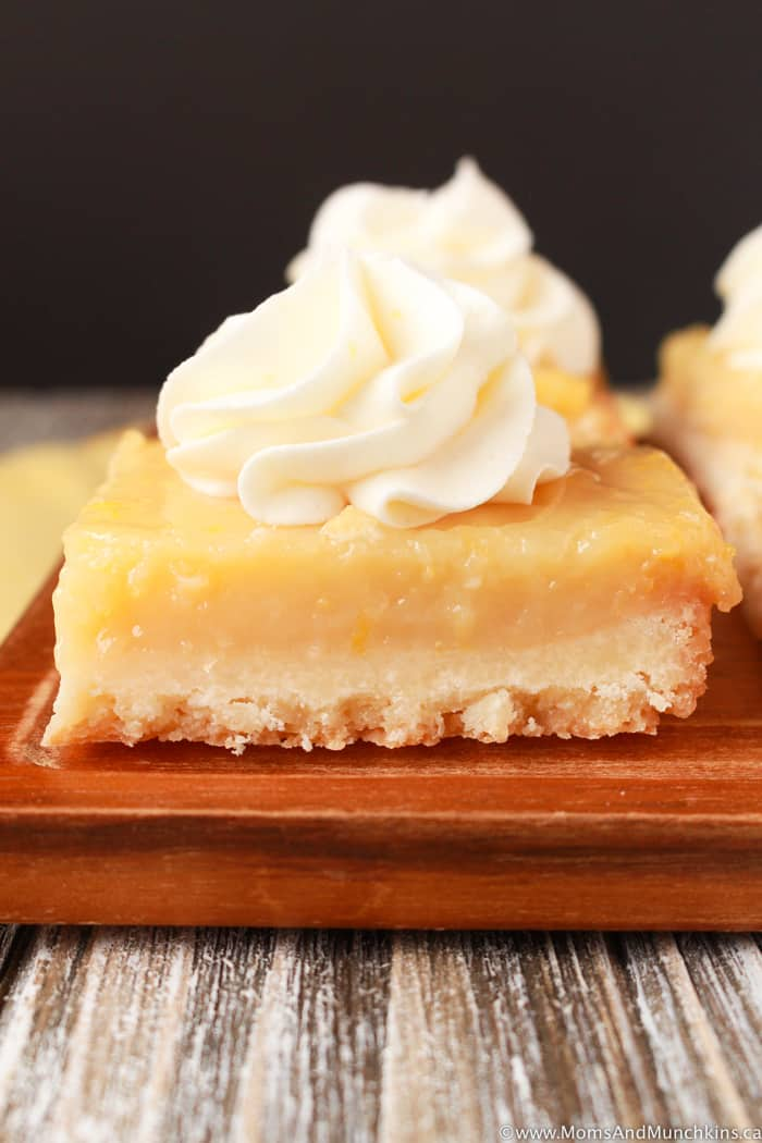 Lemon Bars Made From Scratch