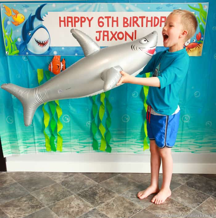 Shark Party Photo Booth