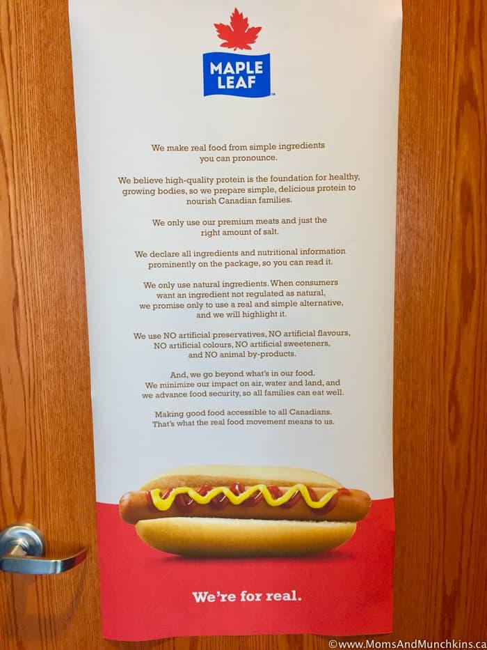 Maple Leaf Foods Manifesto