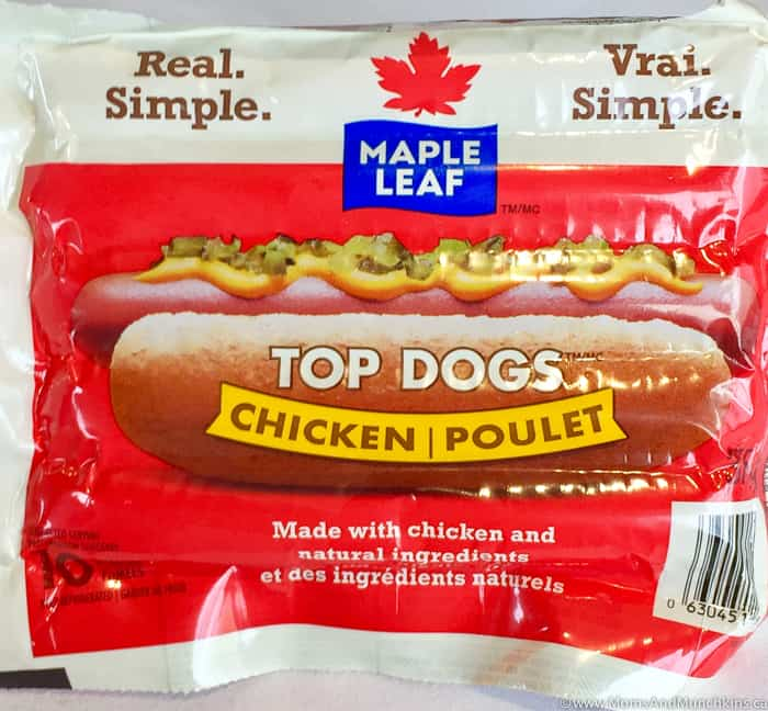 Maple Leaf Chicken Top Dogs