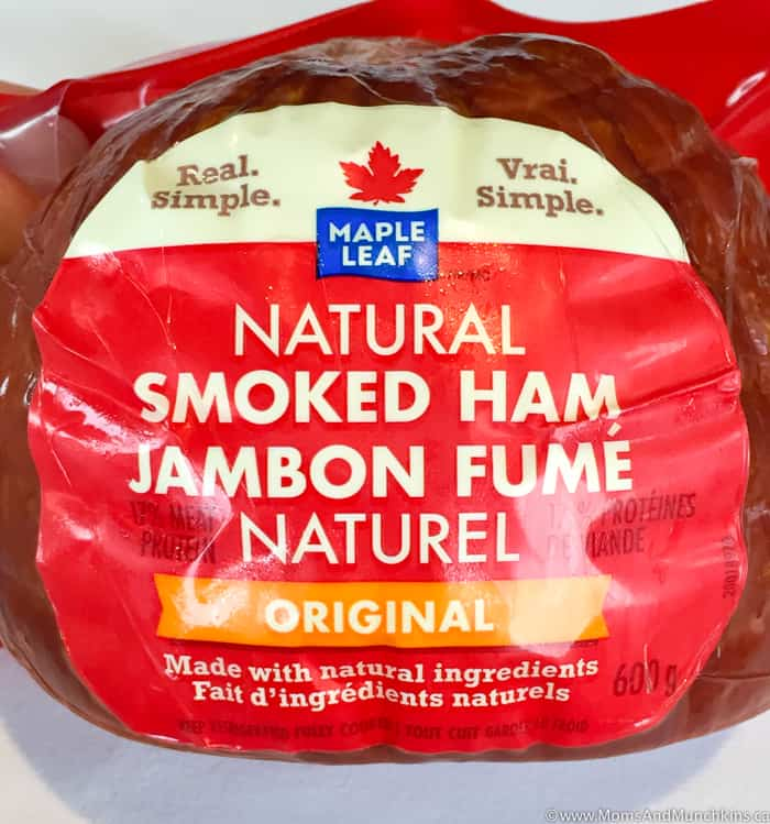 Maple Leaf Natural Smoked Ham