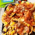 Spicy Pulled Pork Nachos Recipe