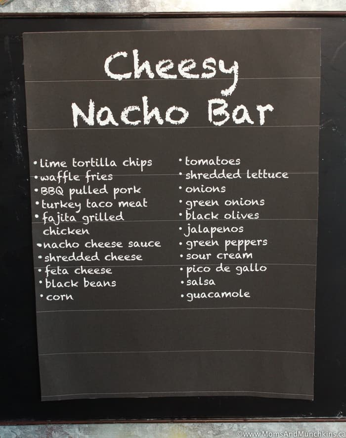 Cheesy Nacho Buffet