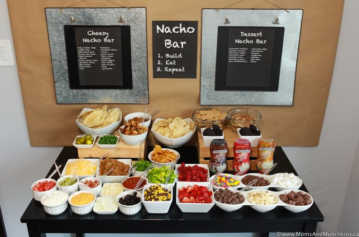 Nacho Bar Display