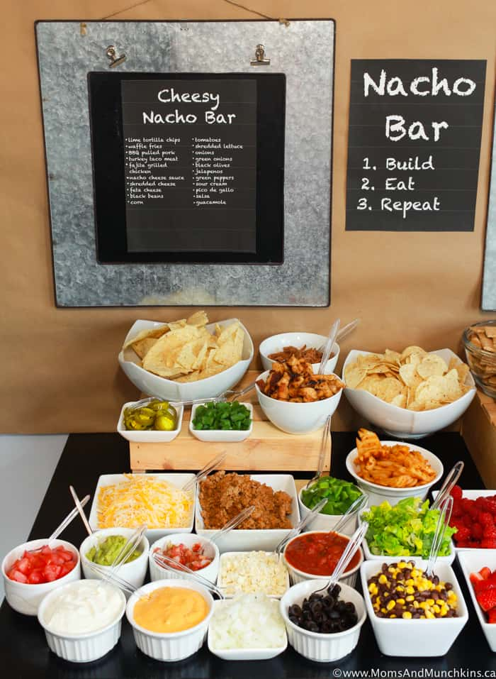 Cheesy Nacho Bar