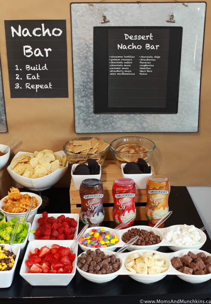 Dessert Nacho Bar