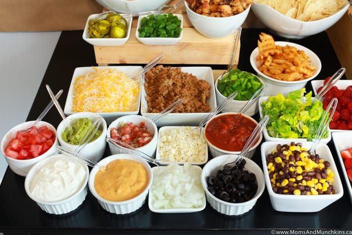 Nacho Bar Toppings