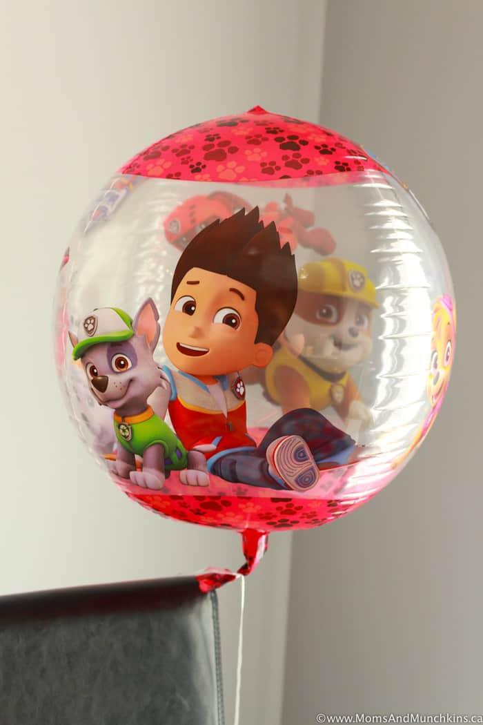 Paw Patrol Birthday Balloons