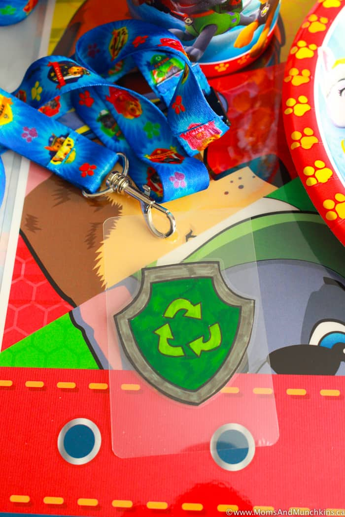 Paw Patrol Party Activity