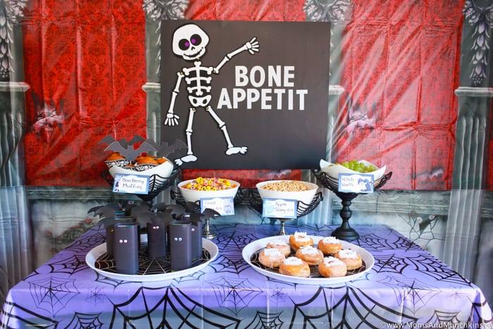 Vampirina Party Buffet